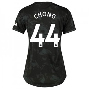 Manchester United Third Shirt 2019 - 20 - Womens with Chong 44 printing
