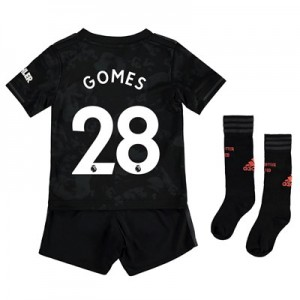 Manchester United Third Mini Kit 2019 - 20 with Gomes 28 printing