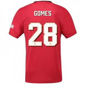 Manchester United Cup Home Shirt 2019 - 20 with Gomes 28 printing
