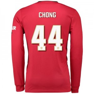 Manchester United Cup Home Shirt 2019 - 20 - Long Sleeve with Chong 44 printing
