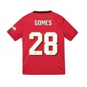Manchester United Cup Home Shirt 2019 - 20 - Kids with Gomes 28 printing