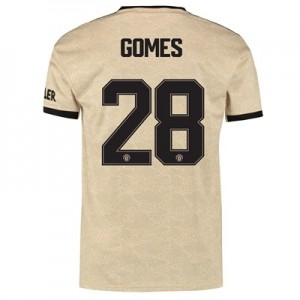 Manchester United Cup Away Shirt 2019 - 20 with Gomes 28 printing