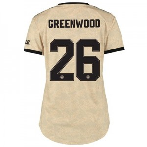 Manchester United Cup Away Shirt 2019 - 20 - Womens with Greenwood 26 printing
