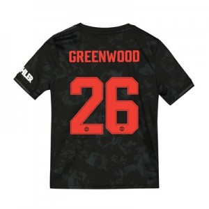 Manchester United Cup Third Shirt 2019 - 20 - Kids with Greenwood 26 printing