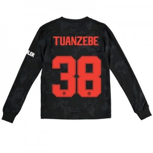 Manchester United Cup Third Shirt 2019 - 20 - Kids - Long Sleeve with Tuanzebe 38 printing