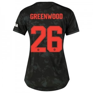 Manchester United Cup Third Shirt 2019 - 20 - Womens with Greenwood 26 printing