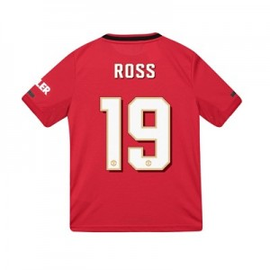 Manchester United Cup Home Shirt 2019 - 20 - Kids with Ross 19 printing
