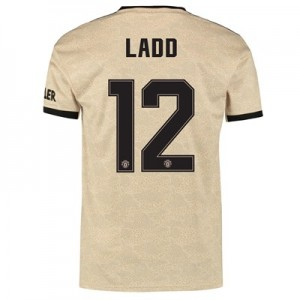 Manchester United Cup Away Shirt 2019 - 20 with Ladd 12 printing