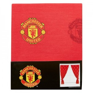 Manchester United Crest Curtain - 54 Inch Drop