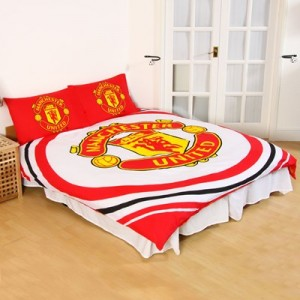 Manchester United Pulse Duvet Cover Set - Double