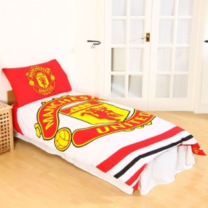 Manchester United Pulse Duvet Cover Set - Single