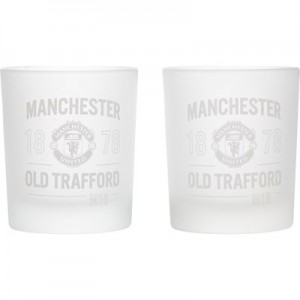 Manchester United Home Team Tumblers - 2 Pack