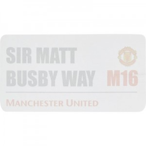 Manchester United Street Sign Sticky Notes