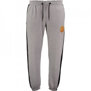 Manchester United Core Fleece Joggers - Grey Marl - Mens
