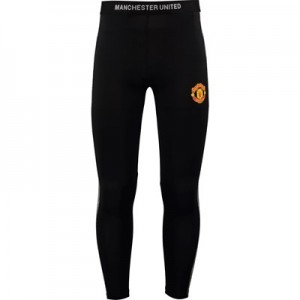 Manchester United Core Poly Leggings - Black - Mens