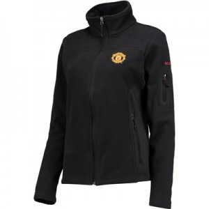 Manchester United Columbia Fast Trek II Full Zip Fleece Jacket - Black - Womens