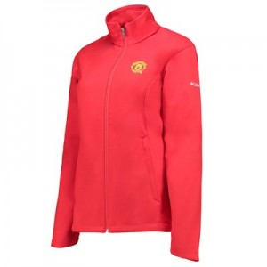 Manchester United Columbia Kruser Ridge Softshell Jacket - Cherrybomb - Womens