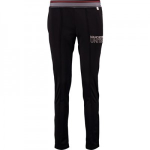 Manchester United Sports Retro Slim Fit Jog Pants - Black - Womens