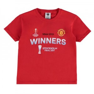 Manchester United Europa League 2017 Winners T-Shirt - Red - Kids
