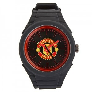 Manchester United Silicon Strap Watch