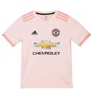 Manchester United Away Shirt 2018-19 - Kids