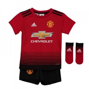 Manchester United Home Baby Kit 2018-19