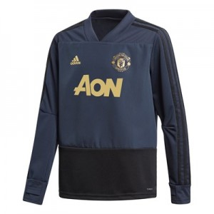 Manchester United UCL Training Top - Navy - Kids