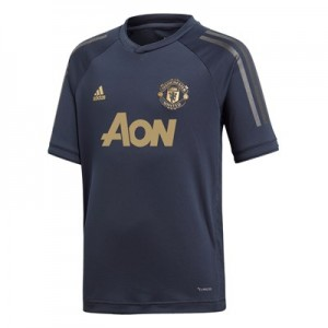 Manchester United UCL Training Jersey - Navy - Kids