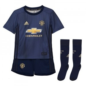Manchester United Third Mini Kit 2018-19