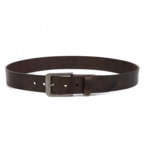 Manchester United Casual Leather Belt - Tan - Mens