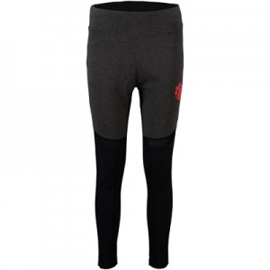 Manchester United Panelled Leggings - Charcoal - Womens