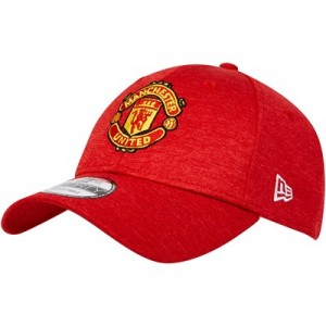 Manchester United New Era 9FORTY Shadow Tech Cap - Scarlet - Adult