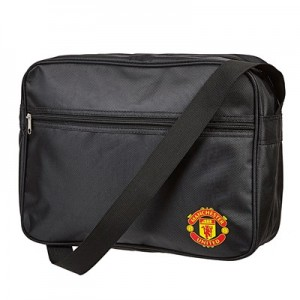 Manchester United Crest Messenger Bag