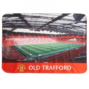 Manchester United Stadium Giant Sherpa Fleece Blanket