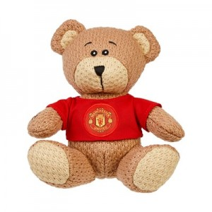 Manchester United Crochet Bear