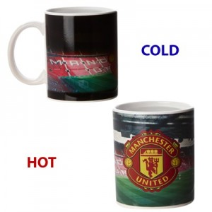 Manchester United Colour Stadium Heat Change Mug