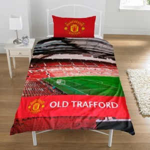 Manchester United Colour Stadium Duvet Set - Single