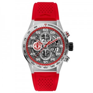 Manchester United TAG Heuer Carrera Calibre HEUER01 Automatic Watch