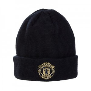 Manchester United New Era Cuff Knit Hat - Navy - Infant