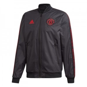 Manchester United Anthem Jacket - Black