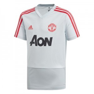 Manchester United Training Jersey - Kids - Grey