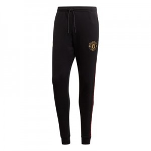 Manchester United Sweat Pants - Black