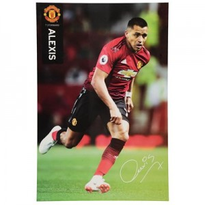 Manchester United 2018-19 Alexis Poster - 61 x 92cm