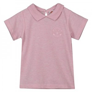 Manchester United Polo Shirt - Pink - Girls