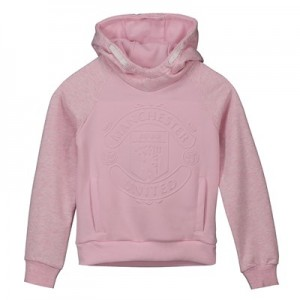 Manchester United Hoodie - Pink - Girls