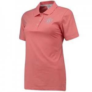 Manchester United Polo Shirt - Pink - Womens