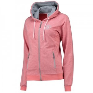 Manchester United Zip Through Hoodie - Pink - Womens