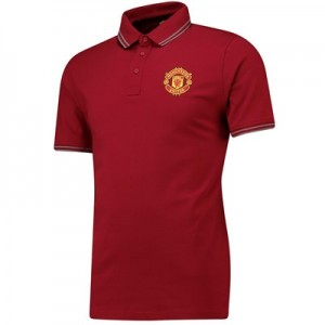 Manchester United Core Polo Shirt - Red - Mens