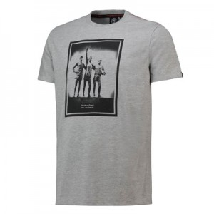 Manchester United Trinity T-Shirt - Grey - Mens