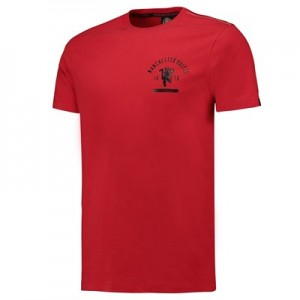 Manchester United Grading T-Shirt - Red - Mens
